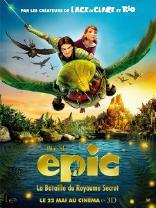 Affiche du film Epic : la bataille du royaume secret