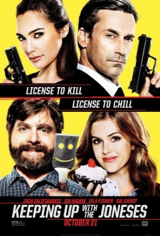 Affiche du film Keeping Up with the Joneses