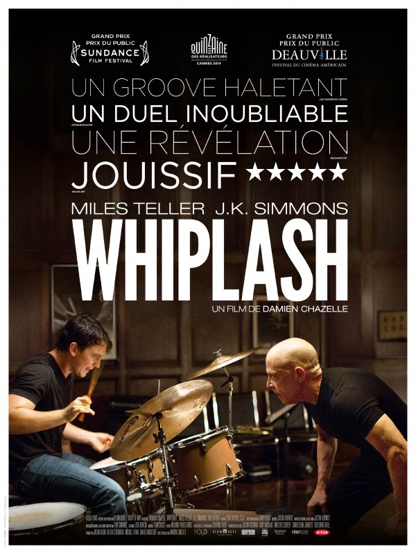 Affiche du film Whiplash
