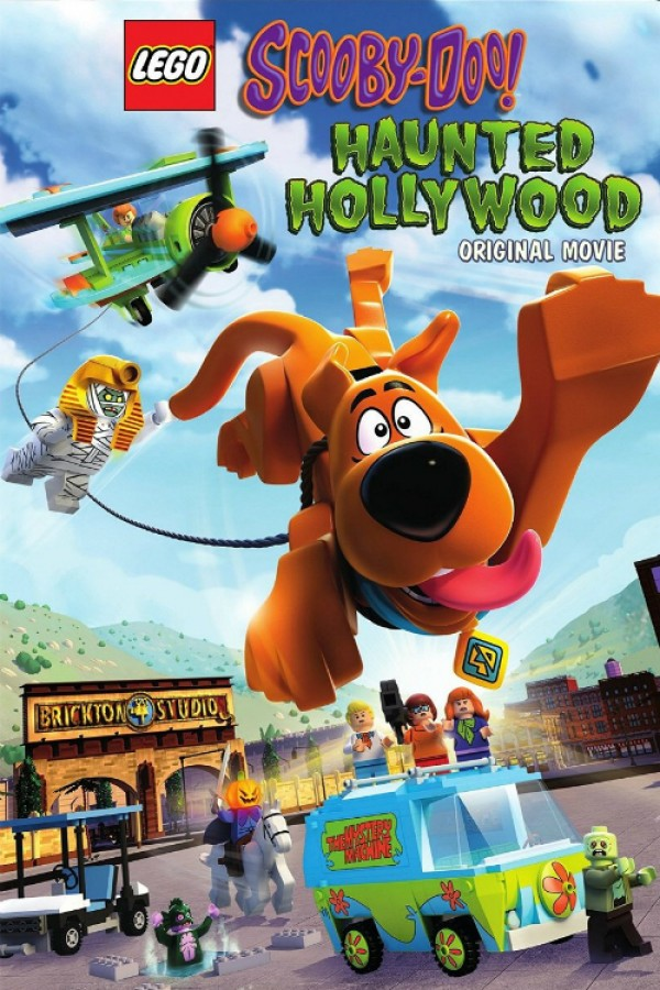 Affiche du film Lego Scooby-Doo! : Le Fantôme d'Hollywood