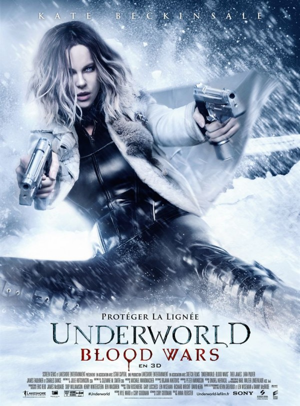 Affiche du film Underworld 5 : Blood Wars