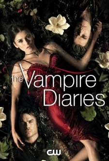 affiche de la série The Vampire Diaries