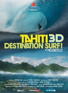 Affiche du film Tahiti 3D destination surf