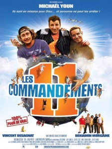 Affiche du film Les 11 Commandements