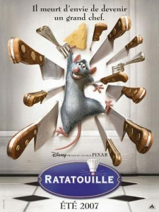 affiche du film Ratatouille