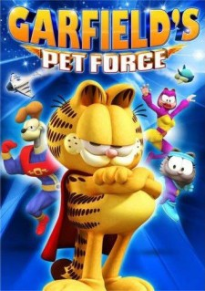 Affiche du film Super Garfield