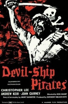 Affiche du film Les Pirates du diable