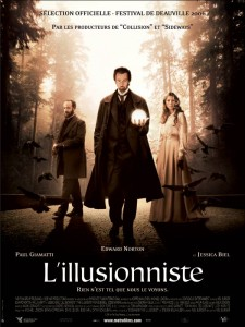 Affiche du film L'Illusionniste