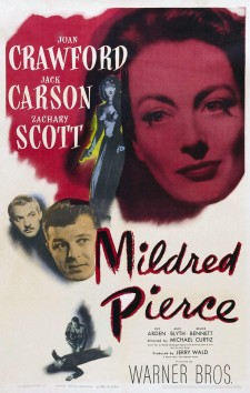 Affiche du film Le Roman de Mildred Pierce
