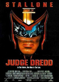 Affiche du film Judge Dredd