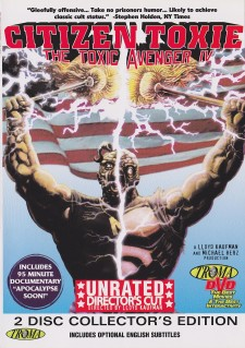 Affiche du film Citizen Toxie: The Toxic Avenger IV