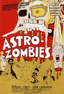Affiche du film The Astro-Zombies