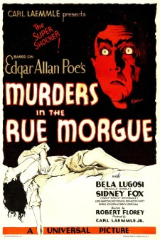 Affiche du film Double assassinat dans la rue Morgue