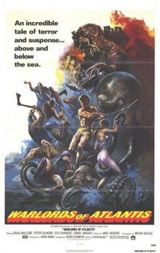 Affiche du film Warlords of Atlantis