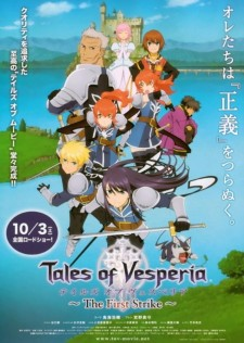 Affiche du film Tales of Vesperia: First Strike