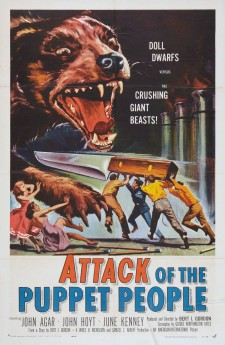 Affiche du film Attack of the Puppet People