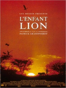 Affiche du film L'enfant lion