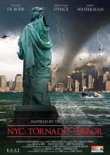Affiche du film Tornades sur New York