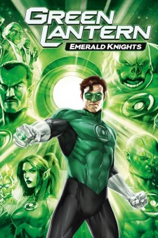 Affiche du film Green Lantern: Emerald Knights
