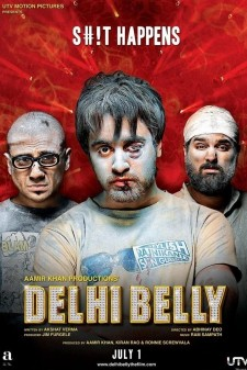 Affiche du film Delhi Belly