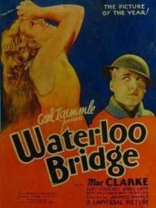 Affiche du film Waterloo Bridge