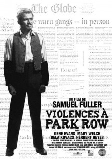 Affiche du film Violences à Park Row