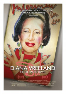 Affiche du film Diana Vreeland: The Eye Has To Travel