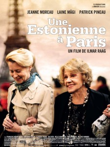 Affiche du film Une estonienne à Paris