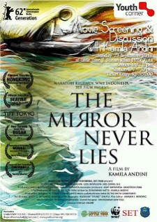 Affiche du film The Mirror never lies