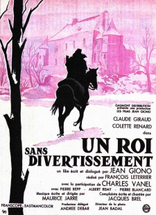 Affiche du film Un roi sans divertissement