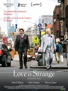 affiche du film Love is strange