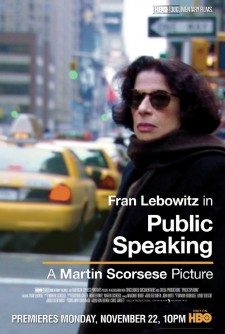 Affiche du film Public Speaking