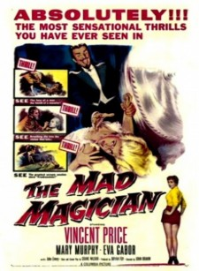 Affiche du film The Mad Magician