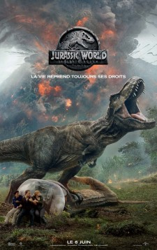 affiche du film Jurassic World : Royaume déchu