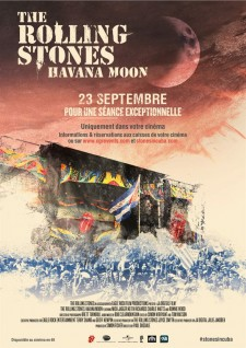 Affiche du film The Rolling Stones - Havana Moon