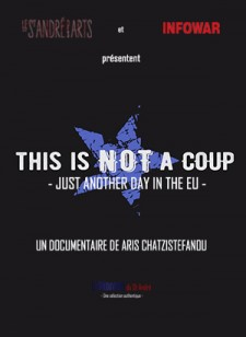 Affiche du film This is not a coup - Just another day in the EU