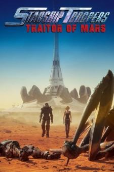 Affiche du film Starship Troopers : Traitor of Mars