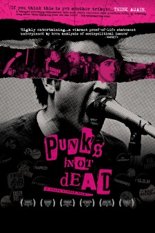 Affiche du film Punk's Not Dead