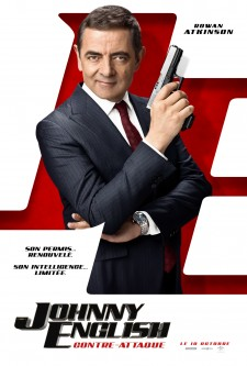 affiche du film Johnny English contre-attaque