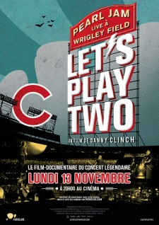 Affiche du film Pearl Jam: Let's Play Two