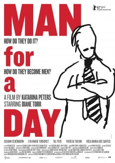 Affiche du film Man for a day