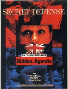 Affiche du film Hidden Agenda : secret défense