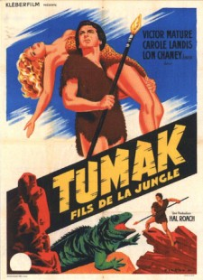 Affiche du film Tumak, fils de la jungle