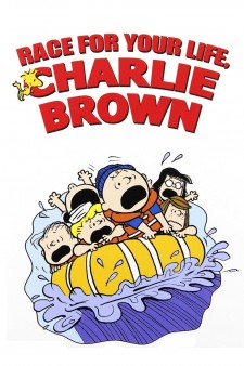 Affiche du film Race for your Life, Charlie Brown