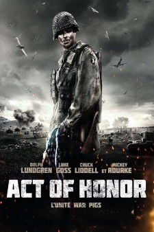 Affiche du film Act of Honor, l'unité War Pigs