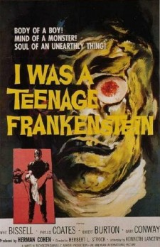 Affiche du film I Was a Teenage Frankenstein