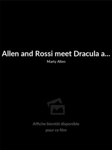 Affiche du film Allen and Rossi meet Dracula and Frankenstein