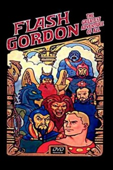Affiche du film Flash Gordon: The Greatest Adventure of All