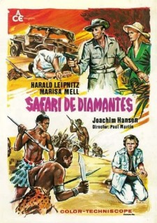 Affiche du film Diamond Walkers