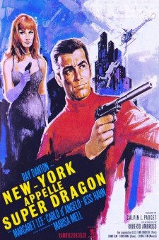 Affiche du film New York appelle Super Dragon